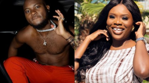 My mind dey for you- Delay tells King Promise after he promised to drop dirty secrets about Ghana music industry on her show