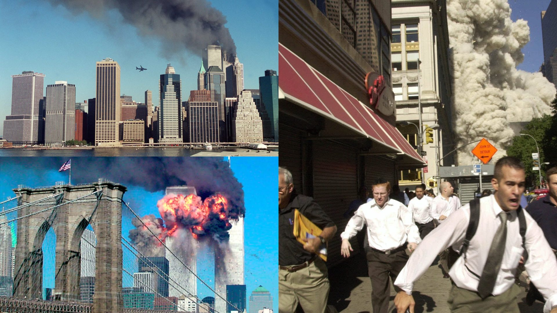 Defining photos the world will never forget as US marks 20th Anniversary of the infamous Osama Bin Laden led al-Qaeda attack