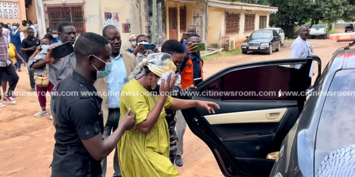 Takoradi woman remains in police custody for failing to meet bail conditions