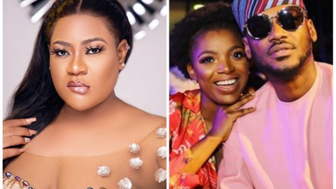"""Nkechi Blessing Joins The Bandwagon To React To Annie And Tuface Idibia's Feud, Says """"Social Media Not Law Court"""""""