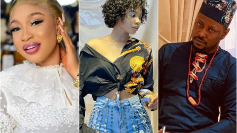 Tonto Dikeh's Ex-lover, Prince Kpokogiri Reacts To Her Claims That He's Having Jane Mena's S£x Tape