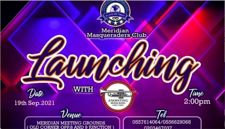 Meridian Masquerading Club In Ghana