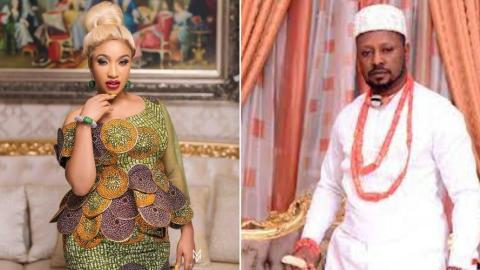 """Prince Kpokogiri Blasts Tonto Dikeh; Says """"You Rubbished The First Man You Married, You Think You Can Play Same Game With Me"""""""