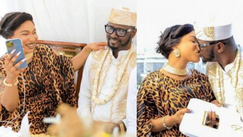 You can't rubbish me like you did to your husband, I'll break you- Tonto Dikeh's former lover of 3months sends warning shot (Watch)