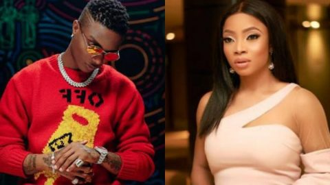 """""""Crase Dey Your Head"""" – Wizkid Reacts To Toke Makinwa Claim That He Used To Be Their Errand Boy"""