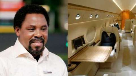 Disciples Of Late Prophet TB Joshua Put Up His $60M Private Jet For Sale