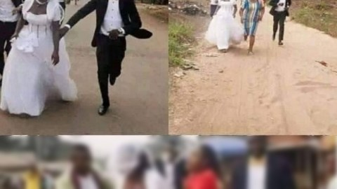 Bride flees on her wedding day after finding out her husband-to-be is a taxi driver, not banker