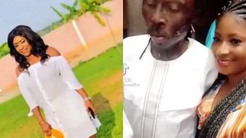 (+VIDEO) Meet Edina Serwaa, the pretty girlfriend of Fetish Priest Kweku Bonsam