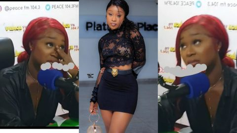 I Wish I Can love My Father But I Can't- Efia Odo Says As She Weeps