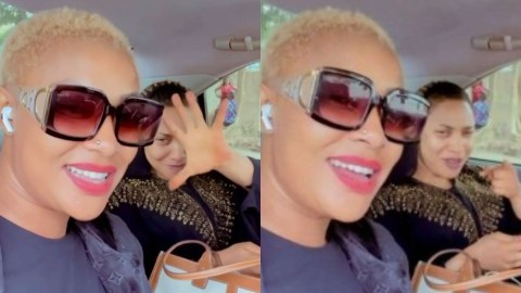 """""""Thunder Fire You"""" – Angela Okorie Helps Tonto Dikeh To Shade Prince Kpokogiri In Latest Video After Dumping Her"""