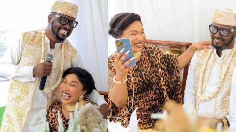Prince Kpokpogri Drags Instagram Bloggers As He Tags Tonto Dikeh As A 'Goddess Wh0re' After Break Up