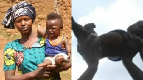 Africa things: Meet 7-month-old baby with 'supernatural powers' to heal sick people instantly