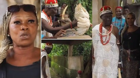Prayer warrior who dumped Christianity to marry a juju man shares her story and how she's enjoying her marriage (Video)