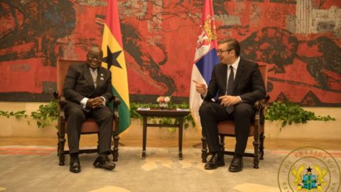 Serbian president describes Akufo-Addo as 'one of the wisest in the world'