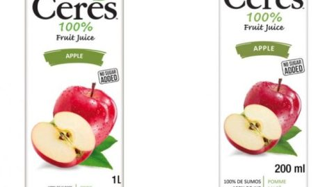 FDA issues directive on Ceres 100% Apple Juice on the market