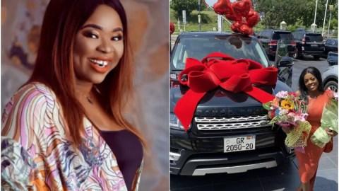 The Range Rover she posted last year belongs to my boyfriend- Adu Sarfowaa exp0ses Nana Aba Anamoah big time with hard evidence