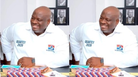 Some NPP members planning evil against me because they claim I'm becoming too powerful and popular – Greater Accra Regional Minister, Henry Quartey