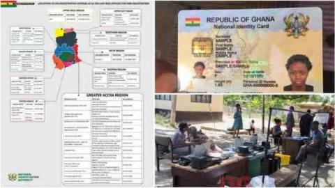 NIA suspends Ghana Card registration, new date announced