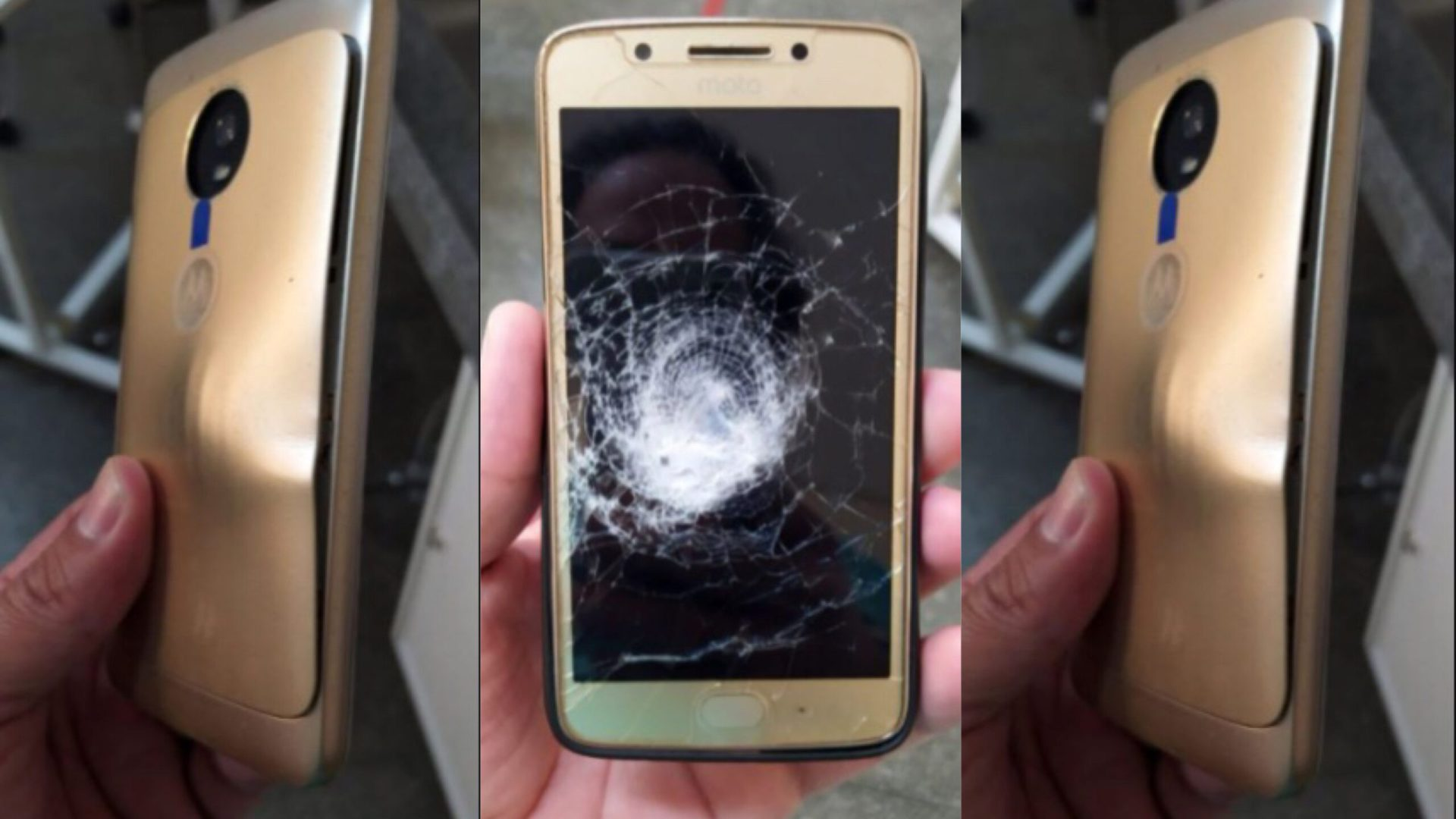 Man narrowly escapes death after his phone case blocked bullet fired at him