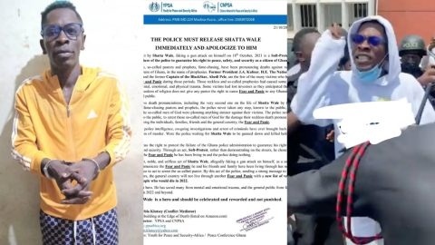 """""""Release Shatta Wale immediately and apologize to him"""" – Group tells police as #FreeShatta Wale trends"""