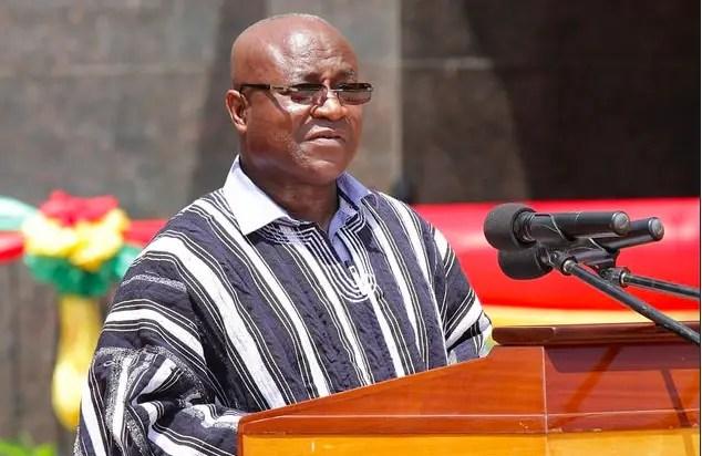 Majority Leader Mensah Bonsu
