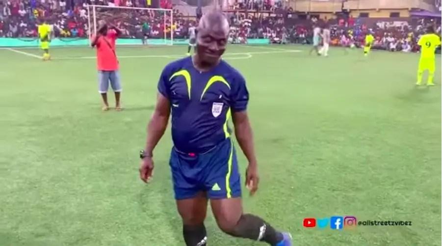 Dancing referee Somo calls for help