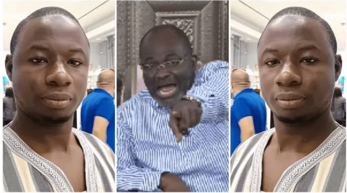 Kennedy Agyapong and Ahmed Suale