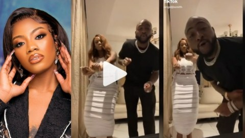 BBNaija's Angel Spotted With Singer, Davido As They Vibe To His Song Together [Video]