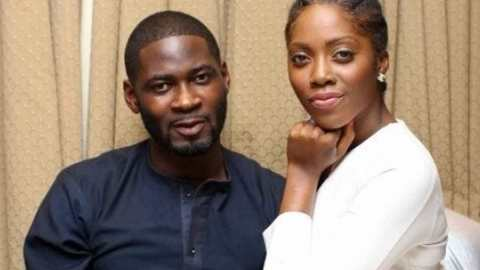 Tiwa Savage's Ex-husband, TeeBillz Reacts To Her S£x Scandal, Leaves Cryptic Message