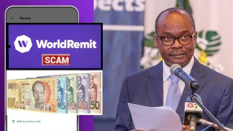 Scam alert: World Remit money doubling scheme is fake– Bank of Ghana issues stern warning to the general public