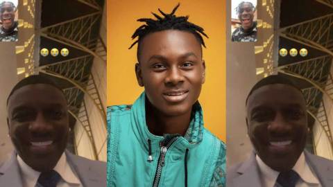 Akon appreciates Larruso's talent as he interact with him in a video call