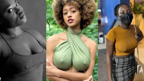 No Bra Day: Ladies share juicy photos as they go braless to mark no bra day