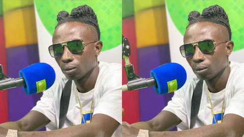 """(+VIDEO) """"He's not a wolf, he's called Patapaa"""" – Father scolds daughter for calling Patapaa a 'wolf'"""