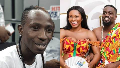 (+VIDEO) Tracy would have advised her husband if she was sensible – Patapaa insults Sarkodie, his mother and Tracy in a fresh interview