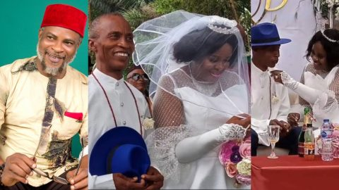 I Wanted A Perfect Man And God Finally Answered My Prayers – Fred Amata's 64 Year Old Sister Who Finally Married Reveals (+VIDEO)