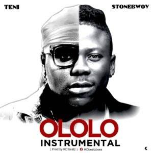 Stonebwoy Ft Teni – Ololo Instrumental (Prod. By KD Beats)