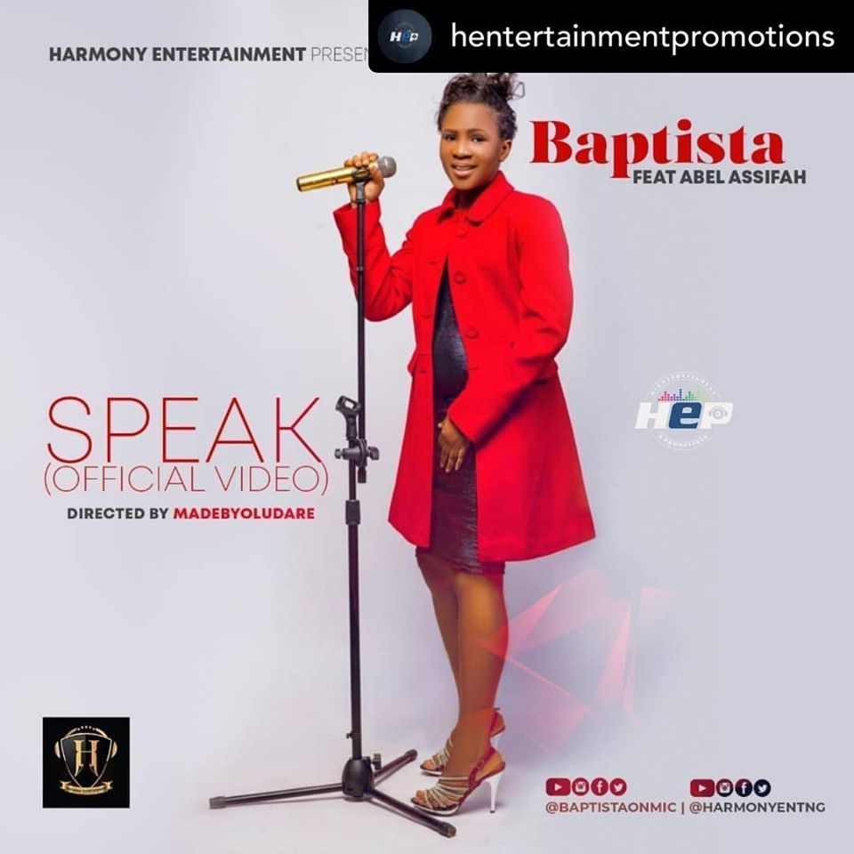 Baptista – Speak(Official Video)