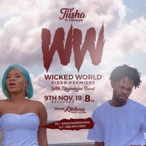 Tiisha – Wicked World ft Fameye