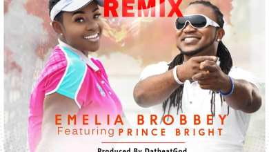 Photo of Emelia Brobbey – Fa Me Ko Remix Ft. Prince Bright