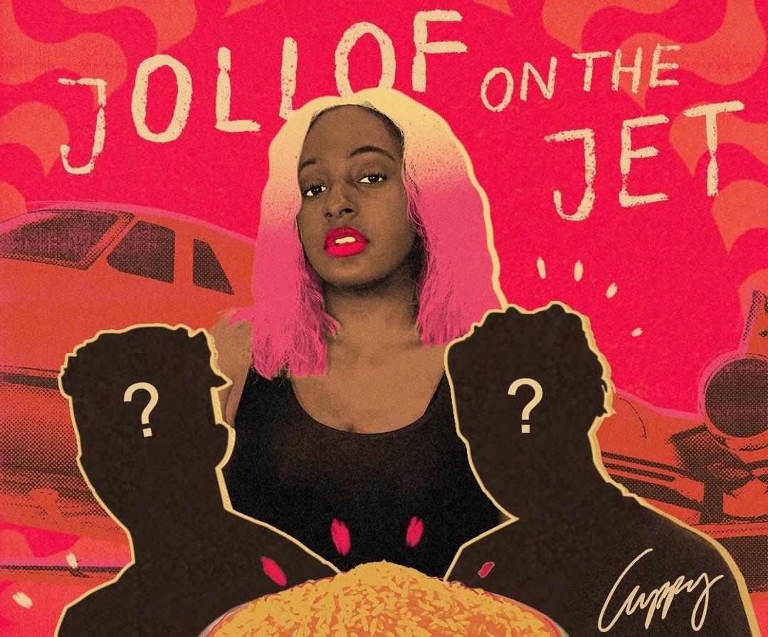 Dj Cuppy - Jollof on the jet ft Rema x Omah Lay