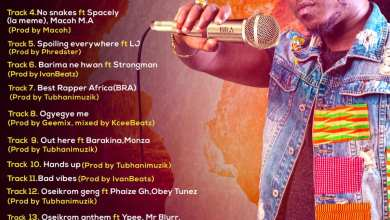 Photo of Flowking Stone – Out Here  Ft. Barakina & Monza