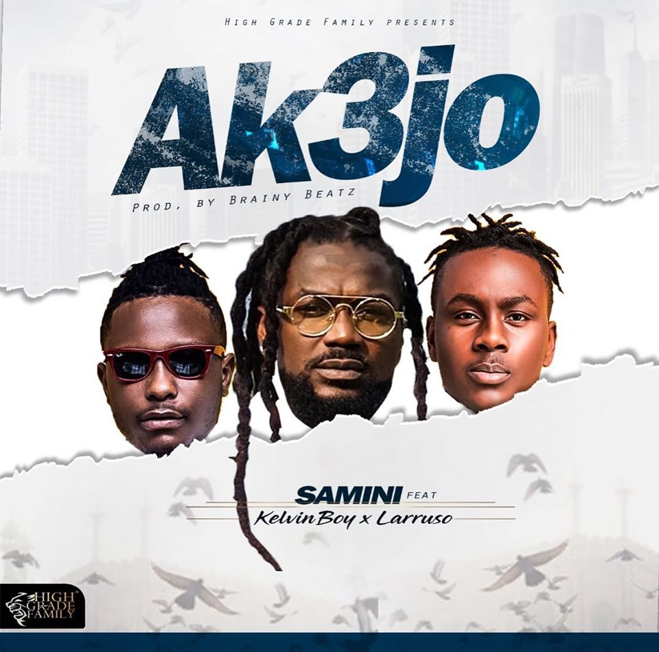 Samini - Akɛjo ft. Kelvyn Boy & Larruso (Animation Video)