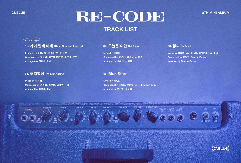 CNBLUE – Mini Album Vol.8 (RE-CODE) (Zip Download) [Zippyshare + 320kbps]