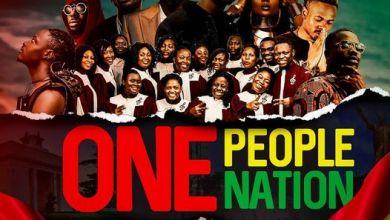 Photo of Download One Nation, One people by Stonebwoy, King Promise, Fancy Gadam,Fameye, Maccasio, Efya,Bethel Revival Choir, Teephlow x Darkovibes