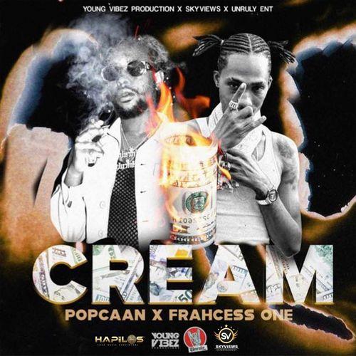 Popcaan - Cream Ft Frahcess One