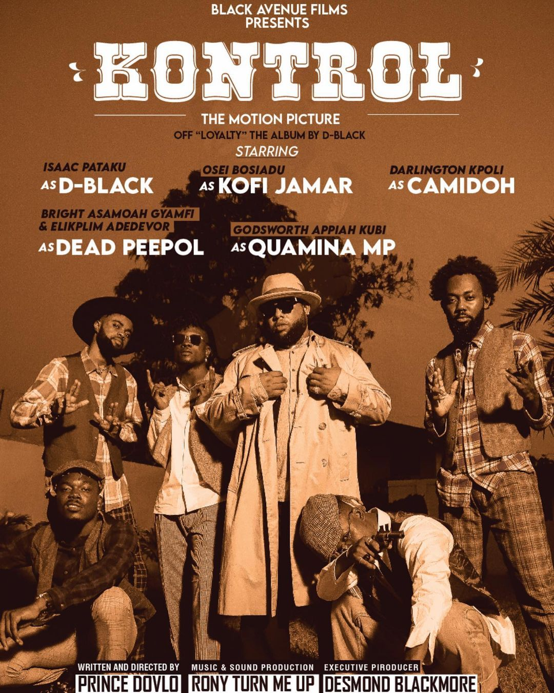 D-Black - Kontrol ft Quamina MP, Kofi Jamar, Camidoh x Dead Peepol