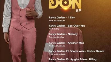 Photo of Fancy Gadam – Nobody (One Don EP)