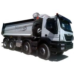 IVECO Trakker AD410T50 con cassone ribaltabile