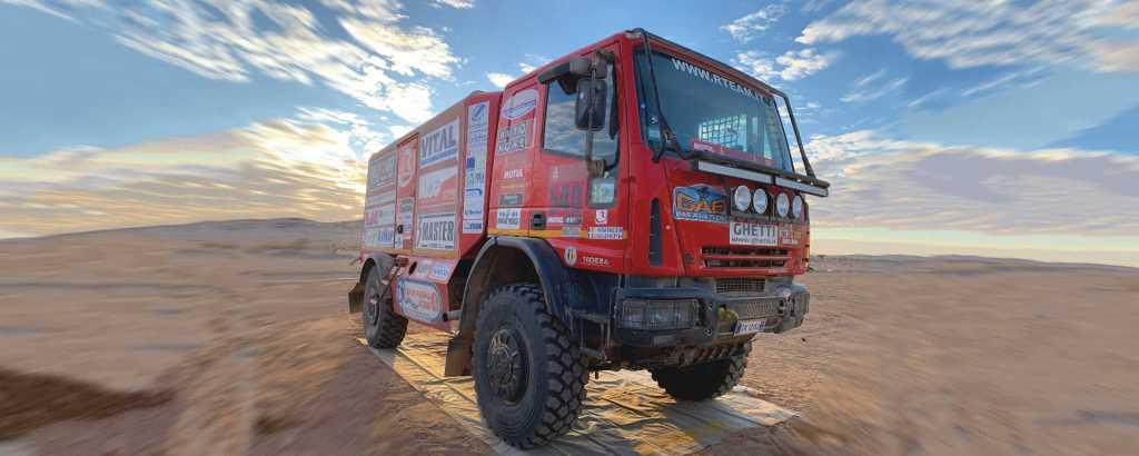 Eurocargo 4x4 Dakar 2020