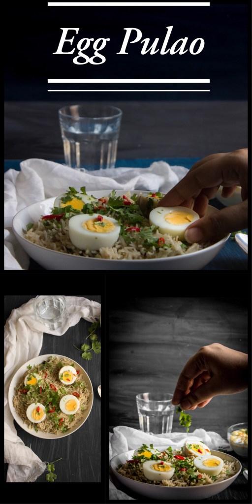 Egg Pulao / Ande Ka Pulao